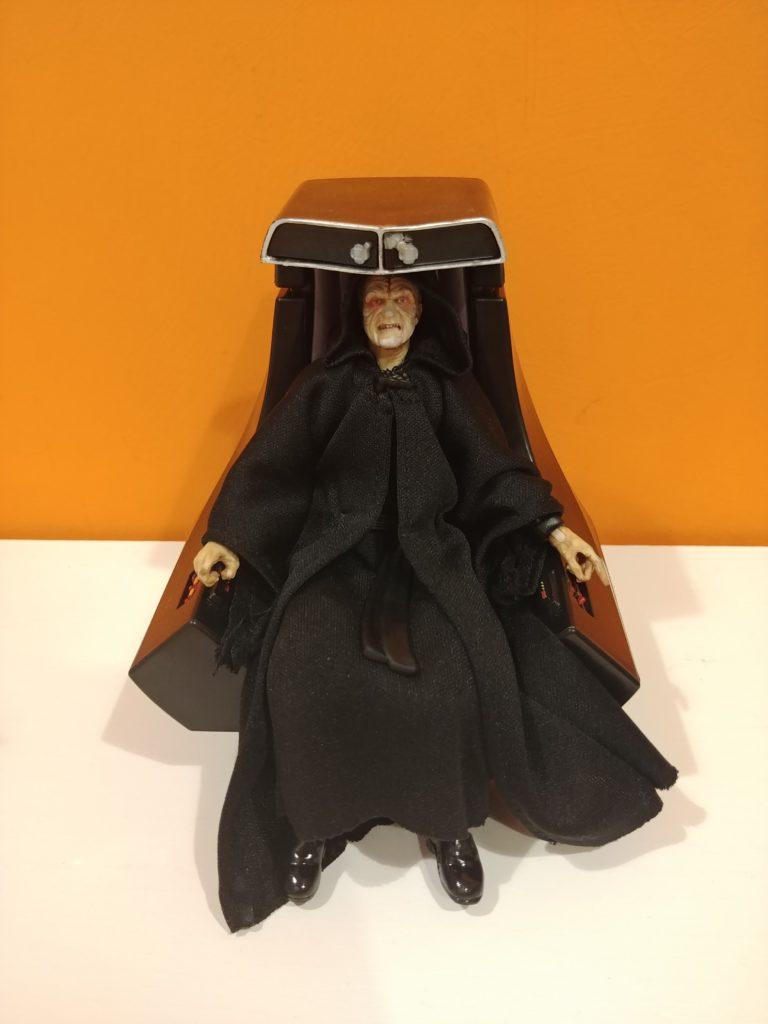 imperatore, Imperatore Palpatine (con trono) The Black Series, Star Wars Addicted