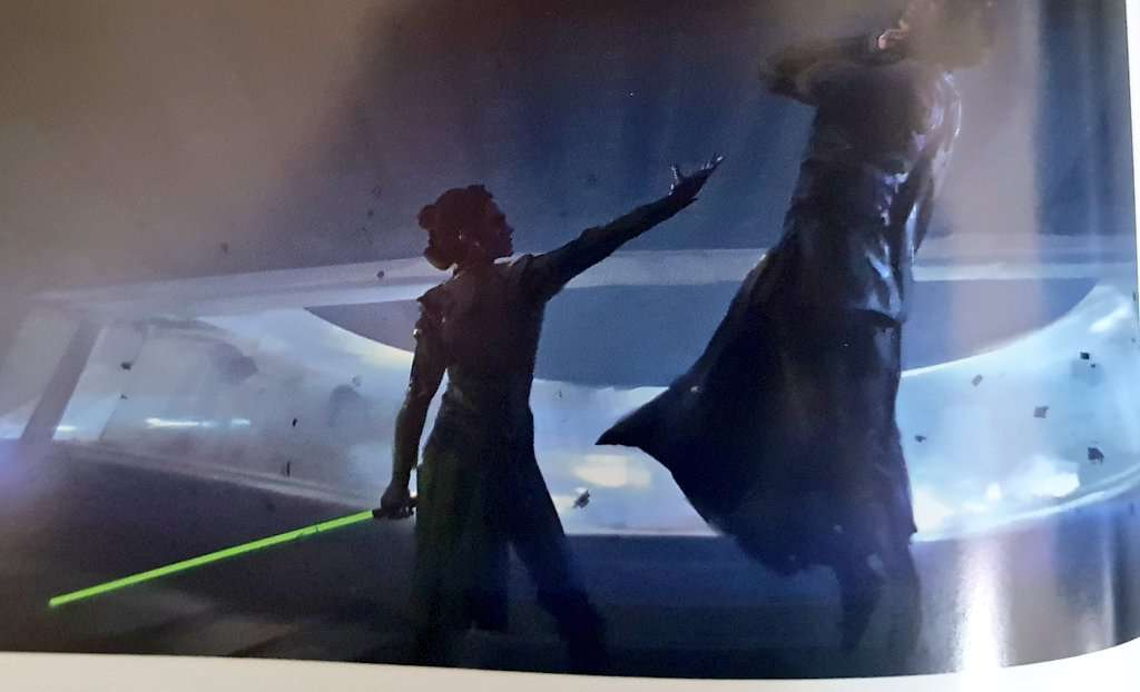 , Come sarebbe diventata Dark Rey senza il sacrificio di Leia, Star Wars Addicted