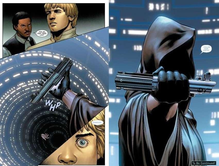 , Ecco cosa succede alla spada di Luke dopo essere caduta su Bespin, Star Wars Addicted