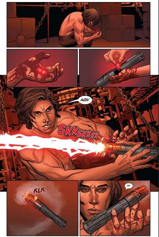 , Svelato il rito del sanguinamento e la creazione della spada di Kylo Ren, Star Wars Addicted