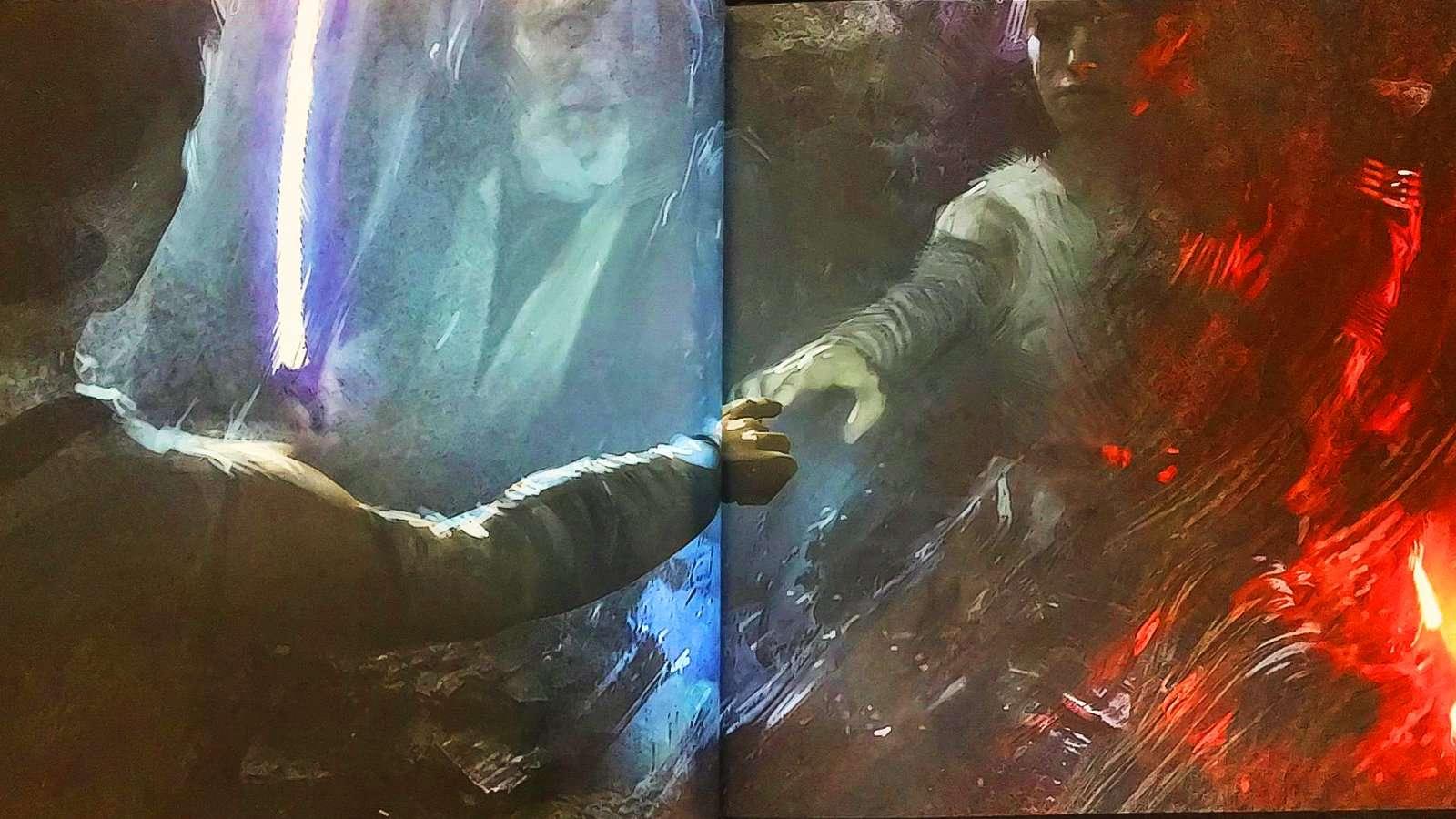 concept art de Gli Ultimi Jedi, Ben Kenobi in un concept art inedito de Gli Ultimi Jedi, Star Wars Addicted