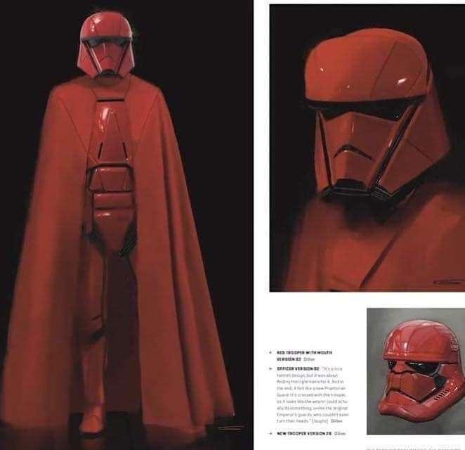 , Primo sguardo al concept della Guardia Reale Sith, Star Wars Addicted