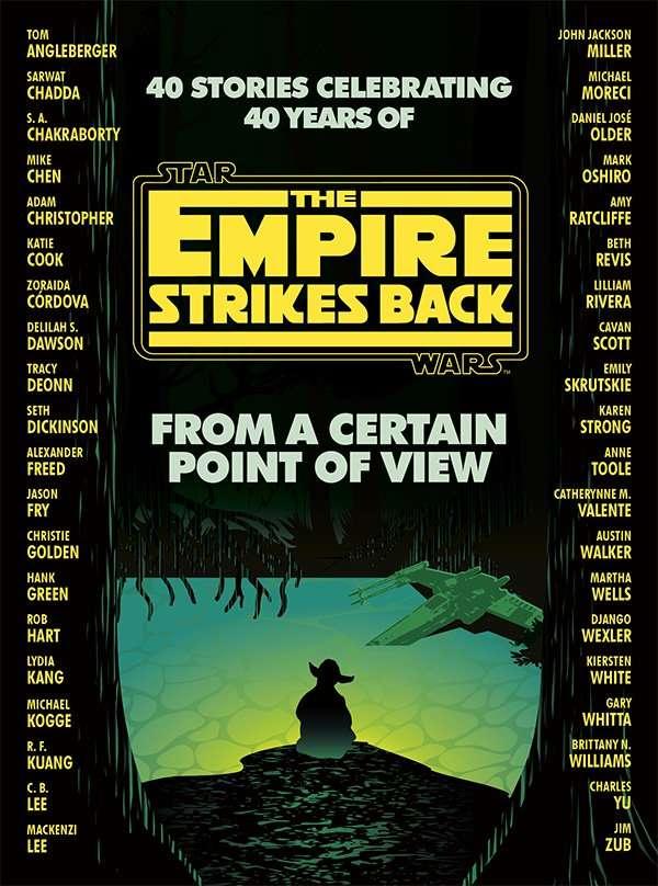 , Svelata la copertina e i 40 autori di From a Certain Point of View – Star Wars: The Empire Strikes Back, Star Wars Addicted