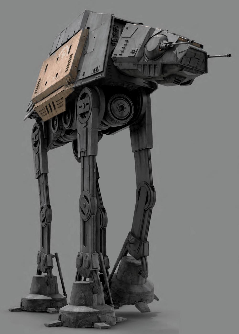 veicoli serie AT, Mezzi e veicoli della serie AT: dal Grande Esercito della Repubblica al Primo Ordine – Guida al Canon, Star Wars Addicted
