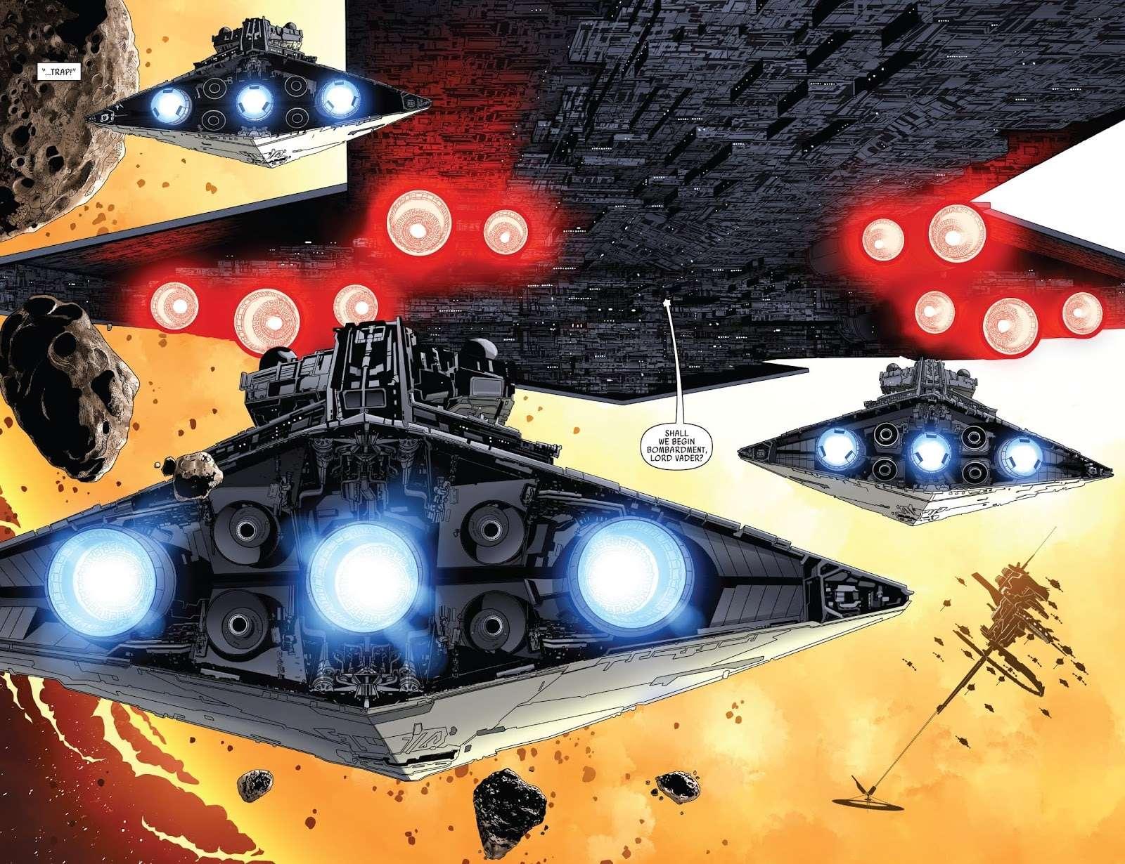 executor super star destroyer darth vader, Il primo super star destroyer: l'Executor, la corazzata personale di Darth Vader – Guida al Canon, Star Wars Addicted