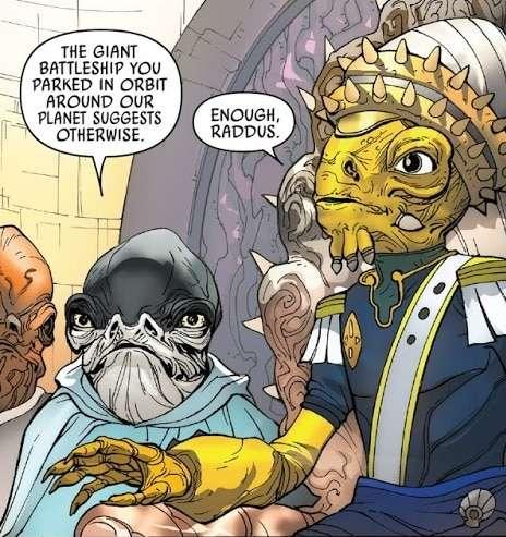 L'Ammiraglio Raddus Eroe della ribellione, L'Ammiraglio Raddus, eroe della ribellione – Guida al Canon, Star Wars Addicted