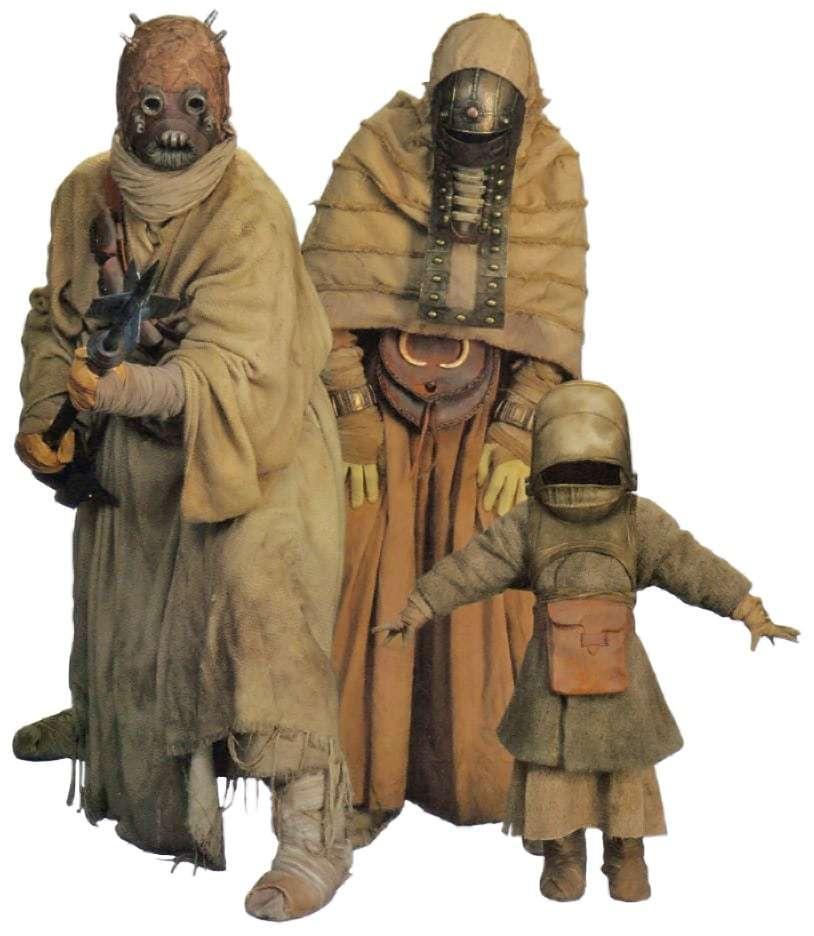 Tusken, Le specie della galassia: i Tusken – Guida al Canon, Star Wars Addicted