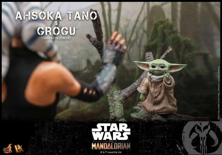 hot toys, Hot Toys annuncia Ahsoka & Grogu, Star Wars Addicted