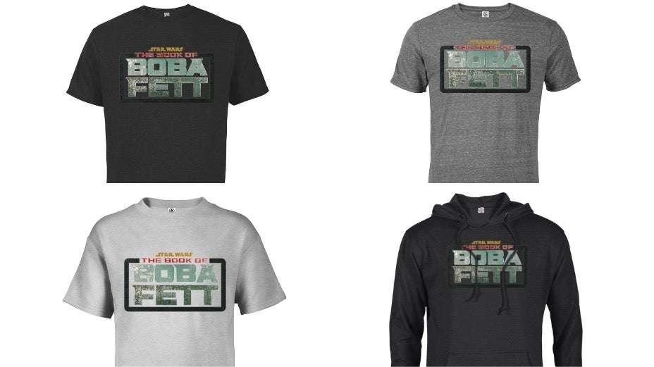 , The Book of Boba Fett: ecco le prime t-shirt ufficiali, Star Wars Addicted