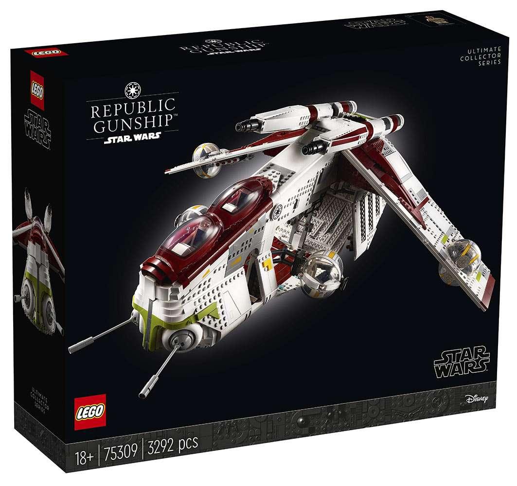 , La Cannoniera della Repubblica Lego è qui, Star Wars Addicted
