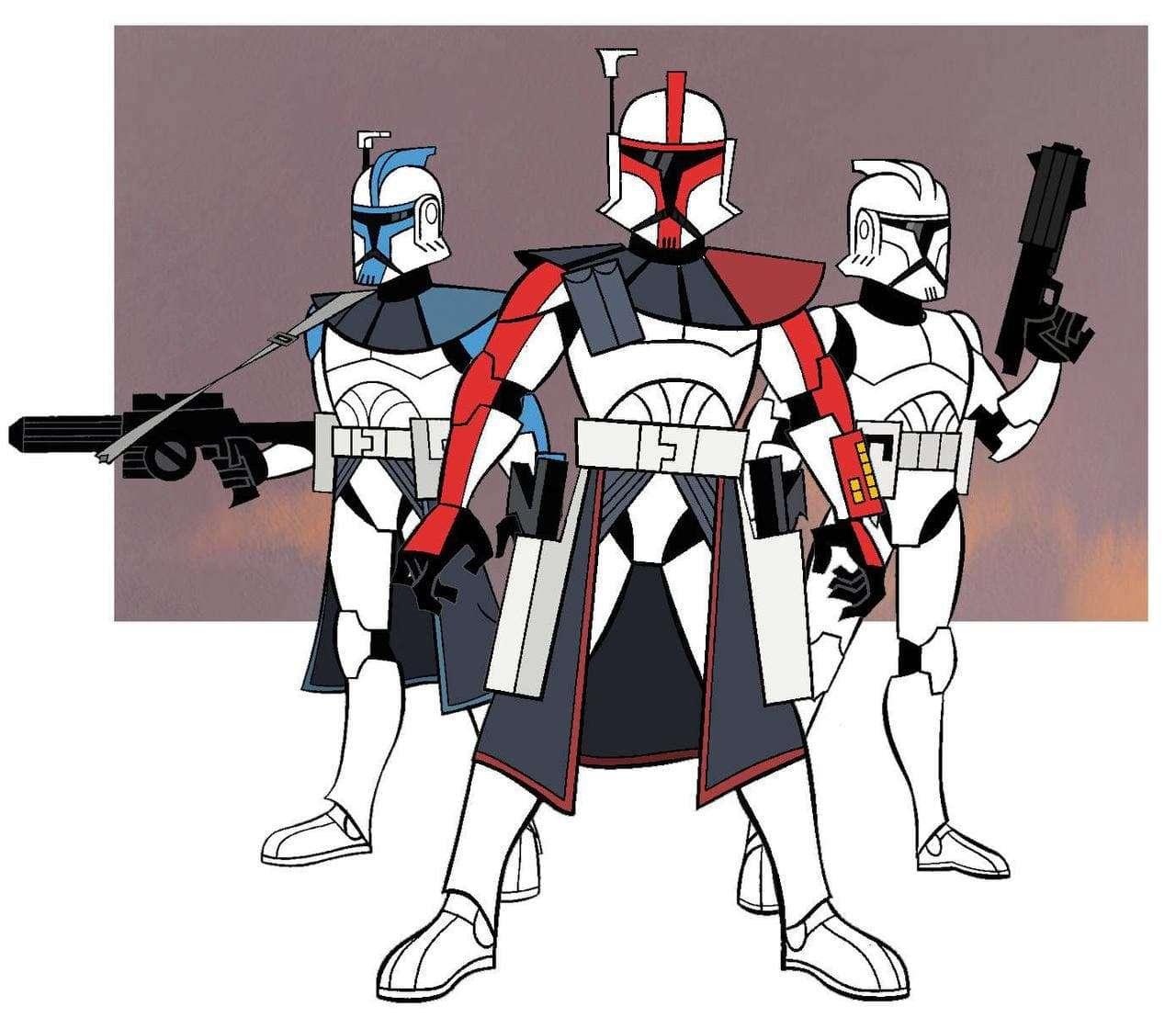 clone wars, PREORDINI Hasbro per le figure dedicate a Clone Wars di Tartakovsky, Star Wars Addicted