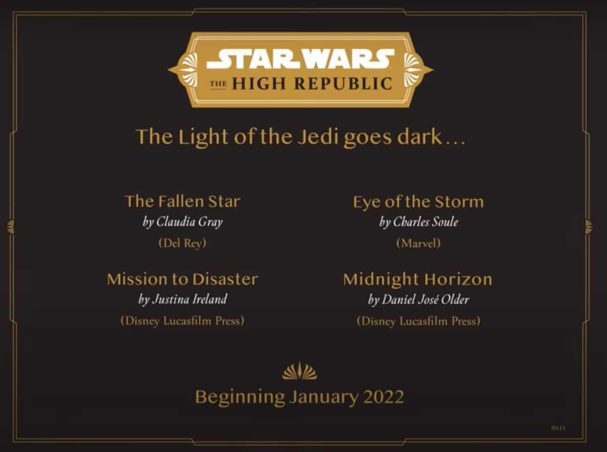 , Alta Repubblica: ecco la terza wave della prima fase, Star Wars Addicted