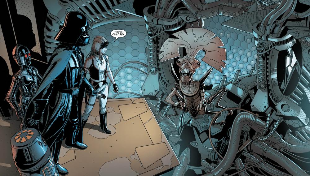 """, Macchina, organico e abominio nel """"Darth Vader"""" di Gillen, Star Wars Addicted"""
