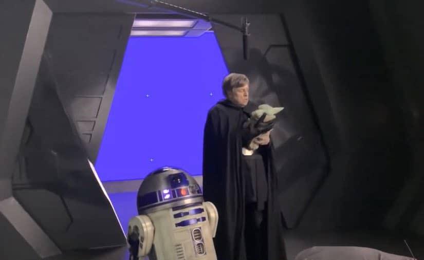 , Mark Hamill: ecco la sua primissima foto sul set di The Mandalorian nei panni di Luke Skywalker, Star Wars Addicted