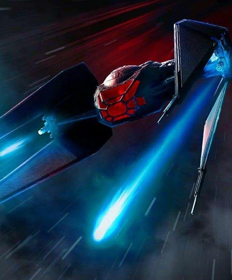 Tie silencer kylo ren, Il TIE Silencer, il prototipo di caccia per Kylo Ren – Guida al Canon, Star Wars Addicted