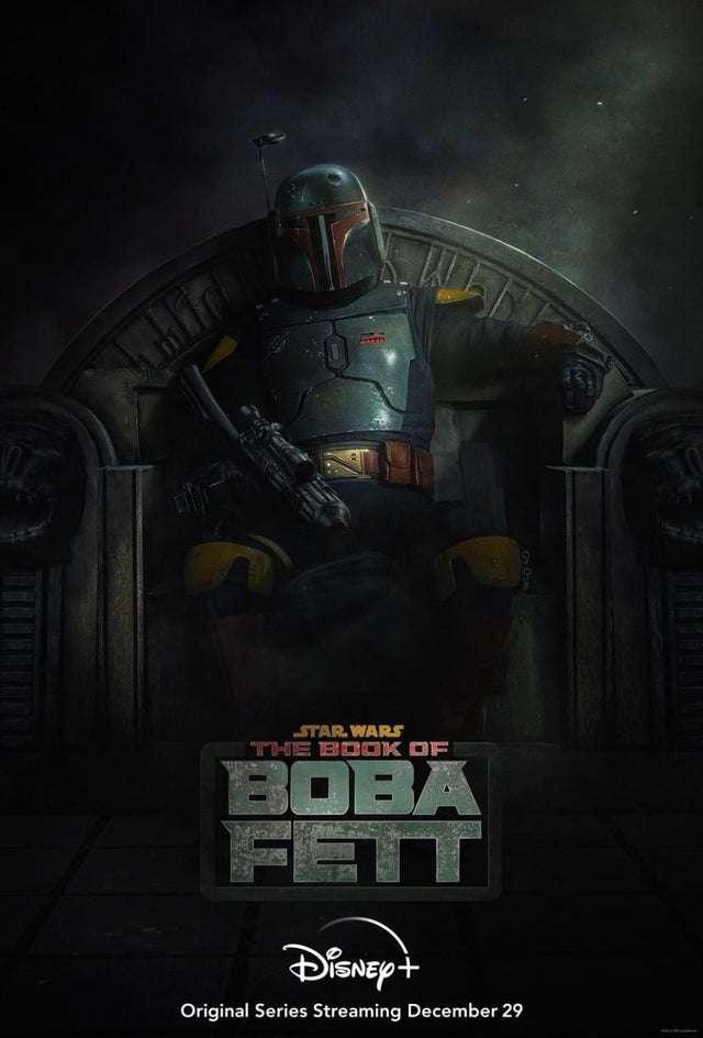 , The Book of Boba Fett: poster ufficiale e data di uscita, Star Wars Addicted