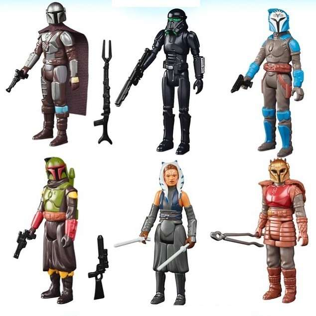 action figures, Svelate le nuove action figures retro in stile vintage ispirate a The Mandalorian!, Star Wars Addicted